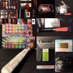 Makeup And Flat Iron Bundle (28 pieces)